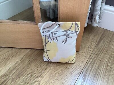 £5 • Buy Fabric Door Stop In Laura Ashley Millwood Camomile Fabric Filled