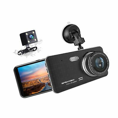 AU90.58 • Buy Dash Cam For Car Front Rear Dual Car Camera 4  IPS 1080 Driving Recorder 170°...