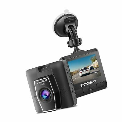 AU85.32 • Buy Dash Cam Front With 2.4  IPS Screen, BOOGIIO 1080P Dash Camera For Cars, Smal...