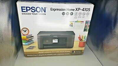 View Details 🖨️Epson Expression Home XP-4105 Wireless All-in-One Color Inkjet Printer🖨️ • 97.97$