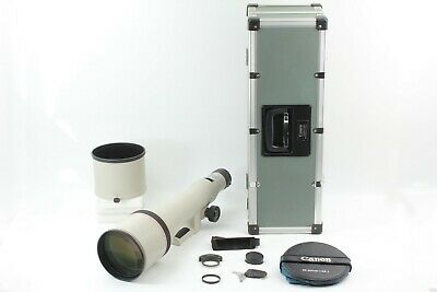 £1634.10 • Buy [Almost UNUSED] Canon New FD NFD 800mm F5.6 L Super Telephoto MF Lens From JAPAN