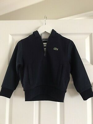 £8 • Buy Boys Lacoste Tracksuit Top Age 4