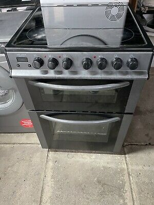 £150 • Buy Bush Electric Cooker In Grey And Black 60cm