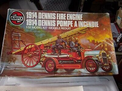 £8.99 • Buy Airfix 1914 Denise Fire Engine,1.32 Model Kit, Started Selling As Spares Or Repa
