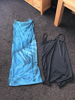 £4.99 • Buy Two Saress Beach Cover Up.  Long And Short Dresses Size Medium