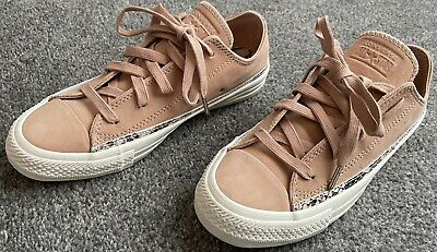 £17.99 • Buy Converse All Star Snake Print Trainers Size 4