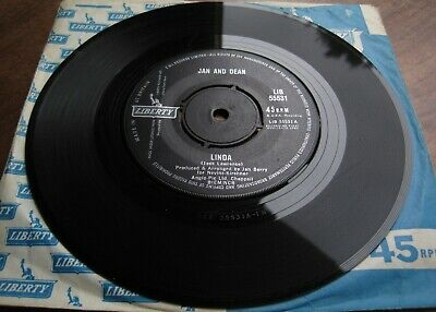 £6 • Buy Jan And Dean - Linda  / When I Learn How To Cry -  7  Liberty LIB 55531 RARE!!