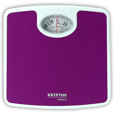 £10.99 • Buy Krypton Compact Mechanical Bathroom Scales Easy Read Weighing Scale Body Weight