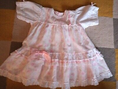 £9 • Buy Baby Girls Vintage Style Dress 12-18 Months Excellent Condition