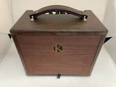 £110 • Buy Kinsman  Portable Acoustic Mains / Battery Powered Busking Amp 25w / 45w