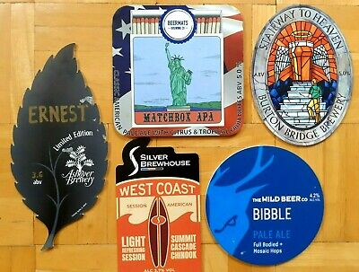 £0.99 • Buy 5 DIFFERENT BEER PUMP CLIPS - VARIOUS BREWERIES - Lot 2
