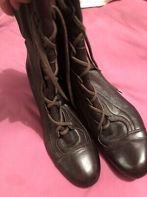 £5.99 • Buy Clarks Brown Granny Type Boots Size 8