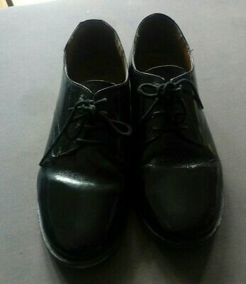 £9.99 • Buy GRAFTERS Size 5 Ladies Cadet Shoes - Black Leather - AIR CADET - CCF
