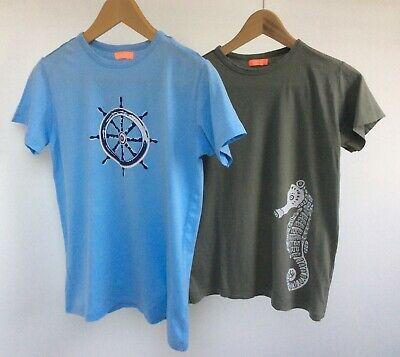 £10 • Buy TWO SUNUVA Boys Sun UV PROTECTION Beach Top T-shirts 11-12. Excellent Condition