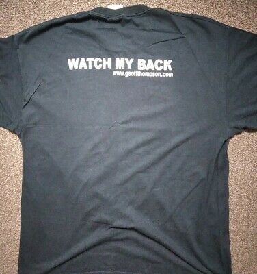 £0.99 • Buy Martial Art T-SHIRT Watch My Back (Used,Good Condition)