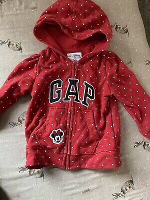 £0.99 • Buy Gap Minnie Mouse Hoody 12-18 Months