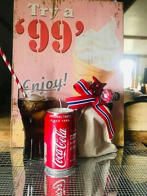 £5 • Buy Coca-Cola Candle Hand Made Comes In Stunning Gift Bag Highly Scented