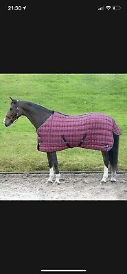 £35 • Buy Masta 350gm Heavy Weight Stable Horse Rug. 6'9 Immaculate