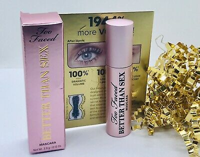 £6.95 • Buy Too Faced Better Than Sex Mascara 3.9g Travel Size ❤️ Boxed
