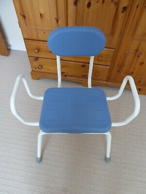 £20 • Buy Perching Stool With Arms And Padded Backrest
