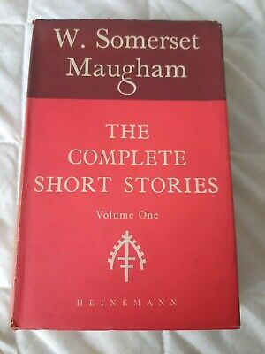 £3 • Buy The Complete Short Stories Volume 1 By W Somerset Maugham