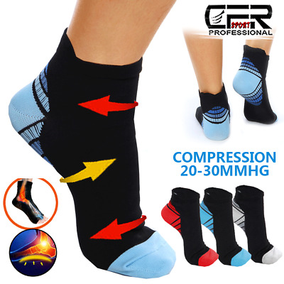 £3.89 • Buy Compression Socks Men Women Plantar Fasciitis Foot Arch Ankle Support Cushioned