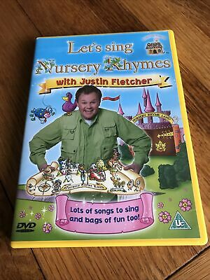 £0.99 • Buy Lets Sing Nursery Rhymes With Justin Fletcher Dvd