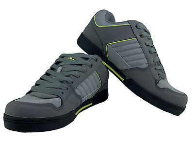 AU106.05 • Buy NWOB DVS Durham Low Top Skateboard Shoes Grey And Lime Men's Size 13