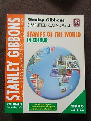 £15 • Buy STANLEY GIBBONS STAMPS Of The WORLD I-M 2006 VOL. 3 CATALOGUE SIMPLIFIED