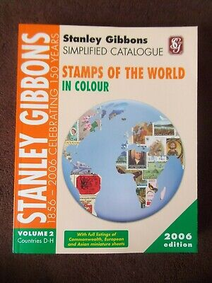£15 • Buy STANLEY GIBBONS STAMPS Of The WORLD D-H 2006 VOL. 2 CATALOGUE SIMPLIFIED
