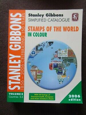£15 • Buy STANLEY GIBBONS STAMPS Of The WORLD S-Z 2006 VOL. 5 CATALOGUE SIMPLIFIED