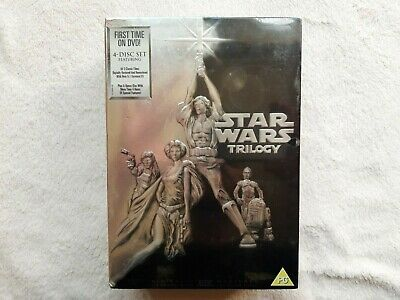 £12.99 • Buy Star Wars Original Trilogy 1ST EDITION FIRST RELEASE DVD BRAND NEW SEALED BOXSET