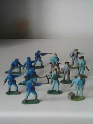 £5.50 • Buy Timpo Civil War Soldiers Union Army X 6 And WildWest Cowboys X 6