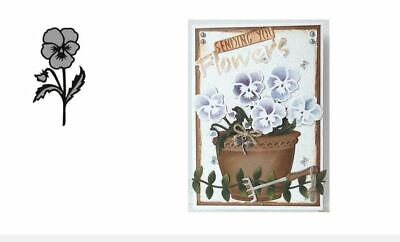 £4 • Buy Marianne Design Craftables Die - Tiny's Pansy CR1305