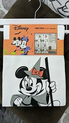 £8.22 • Buy Mickey And Minnie Halloween Shower Curtains