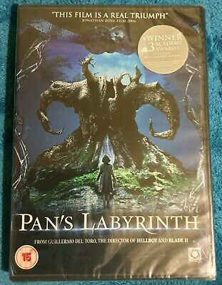 £3.99 • Buy Pans Labyrinth DVD (New And Sealed)