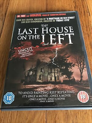 £1.20 • Buy The Last House On The Left Dvd