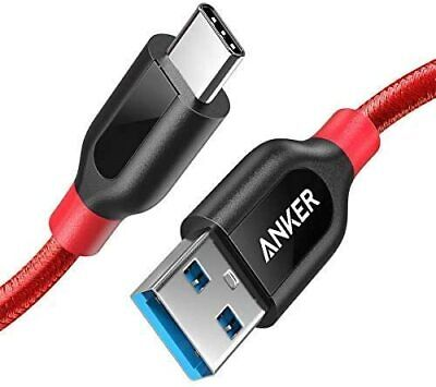 AU25.89 • Buy USB Type C Cable, Anker Powerline+ USB C To USB 3.0 Cable (3ft), High Durability