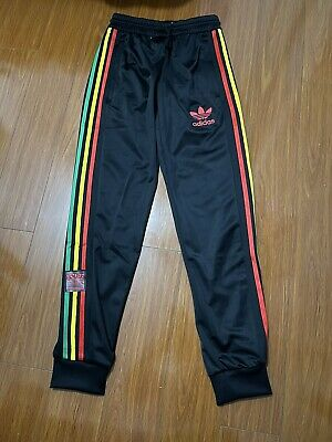 AU69.99 • Buy Adidas Originals Mens Track Pants Chile Pants Black Brand New With Tags Size XS