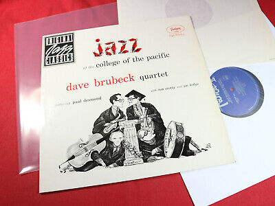 £12.81 • Buy Dave Brubeck Quartet  AT COLLEGE OF THE PACIFIC LP Fantasy ZYX OJC-047 Near Mint