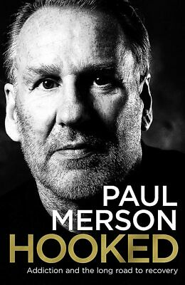 £20 • Buy Paul Merson - Hooked - Addiction And The Long Road To Recovery - SIGNED BOOK
