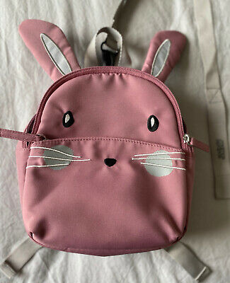 £1.10 • Buy Child's Backpack With Reins Mamas & Papas Pink Bunny Only Used Once