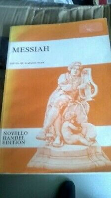 £4.75 • Buy G F Handel Messiah - Novello Choral Edition Sheet Music Book Vocal Score .used