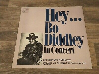 £7.65 • Buy Hey Bo Diddley In Concert With Mainsqueeze 1986 Conifer CFRC 507 Vinyl LP Album