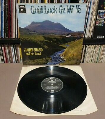 £0.99 • Buy JIMMY SHAND AND HIS BAND Guid Luck Go Wi' Ye Vinyl L.P - UK - PCS 7060