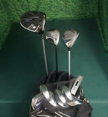 AU864.33 • Buy Full Set Golf Clubs Callaway Woods & Irons 5-PW+ 2 Wedges + Putter & Bag