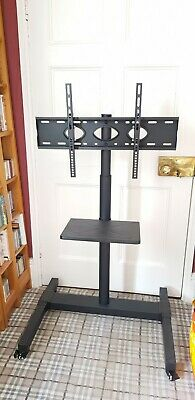 £43 • Buy TV/Monitor Mobile TV Stand...securely Mounts Up To 70  TV
