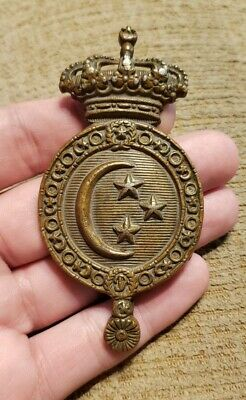 £43.61 • Buy Scarce Ww1 Egypt Crest Crowned Martingale Large Calvary Horse Badge Medal Look!