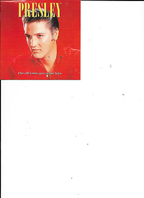 £1.75 • Buy Elvis Presley All Time Greatest Hits ( RCA 2 CD 1987) Fat Box Cd Case