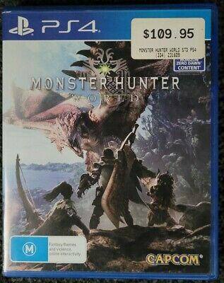 AU24.99 • Buy PS4 Monster Hunter: World Compatible PS5 AUS PAL Playstation 4 Fast Shipping